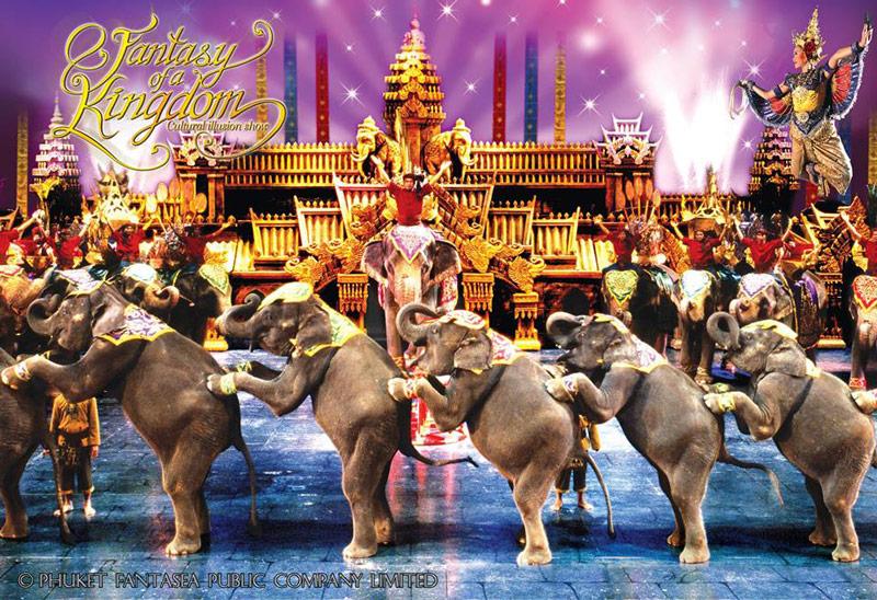 FANTASEA SHOW THAILANDE